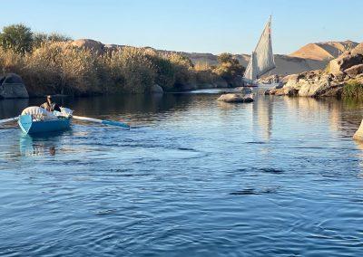 Felucca-Boats-Nile-Aswan-Egypt