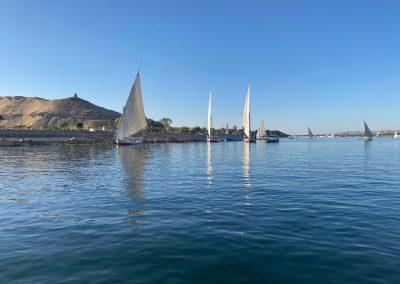 Felucca-boats-Nile-Aswan